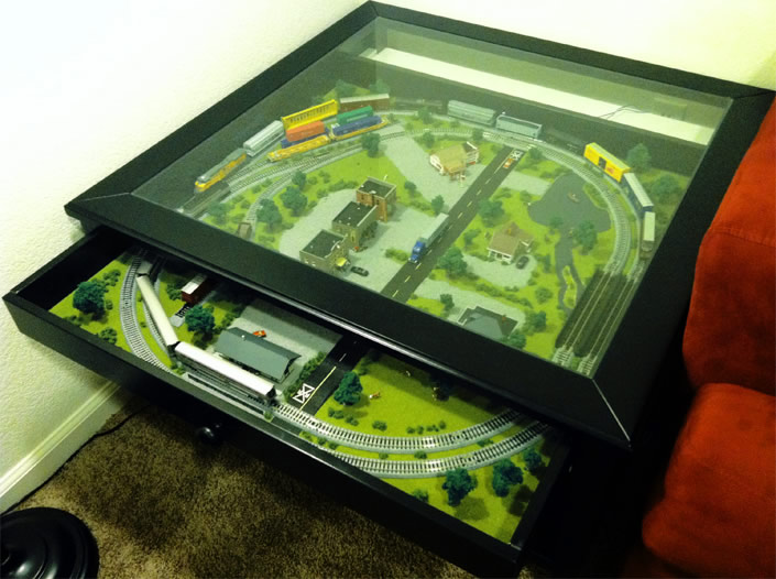 The Train Set Coffee Table