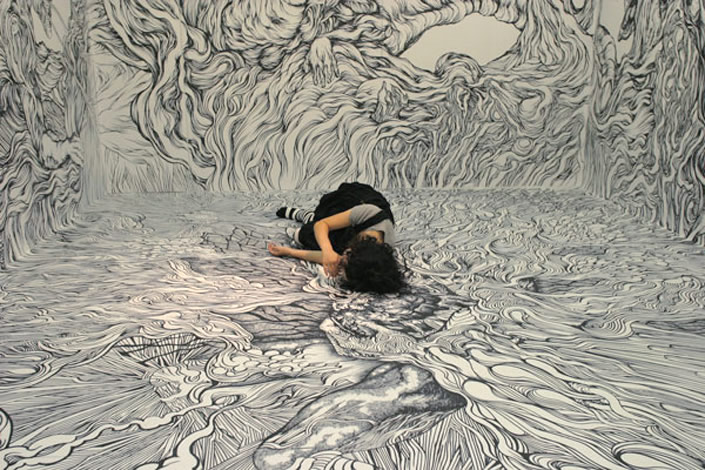 Amazing Wall to Wall Drawings