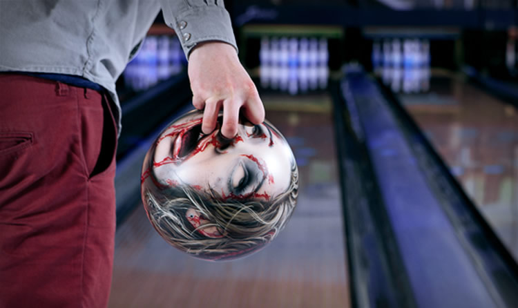 Bowling with Zombie Heads
